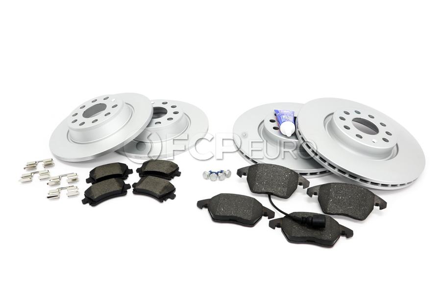 Audi VW Brake Kit - Zimmermann KIT-1K0615301AAKT50