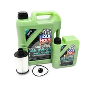 0W20 Molygen New Generation Oil Change Kit  - Liqui Moly/Mahle LM20438KT1