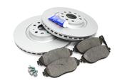 Audi Brake Kit - Zimmermann/Textar 1K0615301ADKT