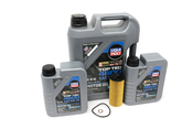 BMW 5W30 Oil Change Kit - Liqui Moly 11428507683KT4