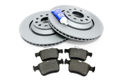 Audi Brake Kit - ATE/Textar 1K0615601NKT
