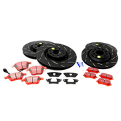 VW Brake Kit - EBC Brakes KIT-528905KT9
