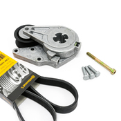 VW Drive Belt Kit - Continental KIT-021145933CKT1