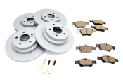 Mercedes Brake Kit - Akebono 0044200720
