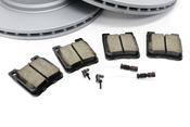 Mercedes Brake Kit - Akebono 2104230812