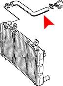 Saab Radiator Hose - Gates 7540420