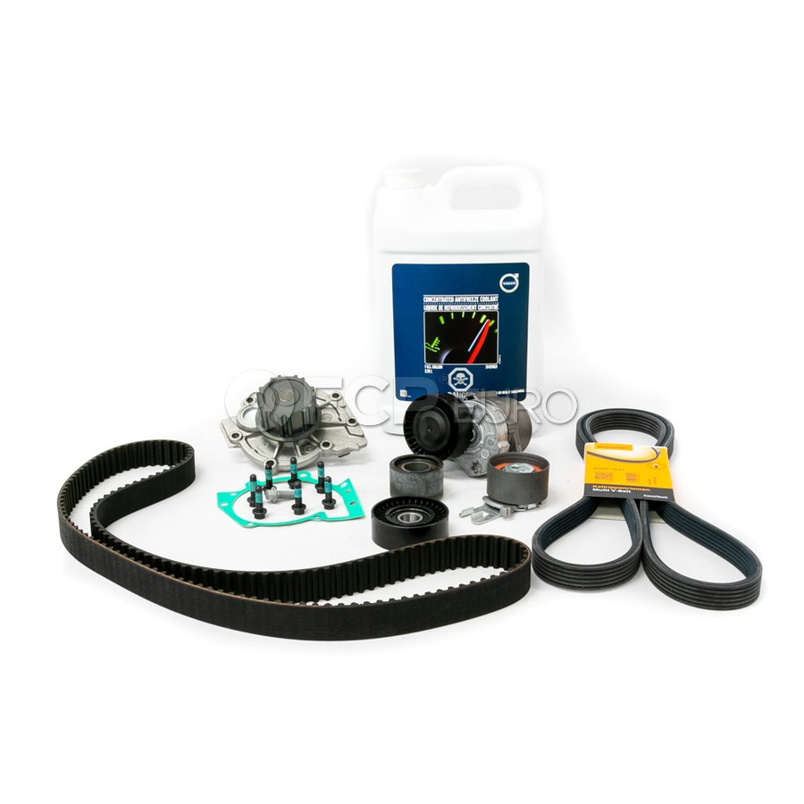 Volvo Timing Belt and Water Pump Kit - Continental 31104600KT