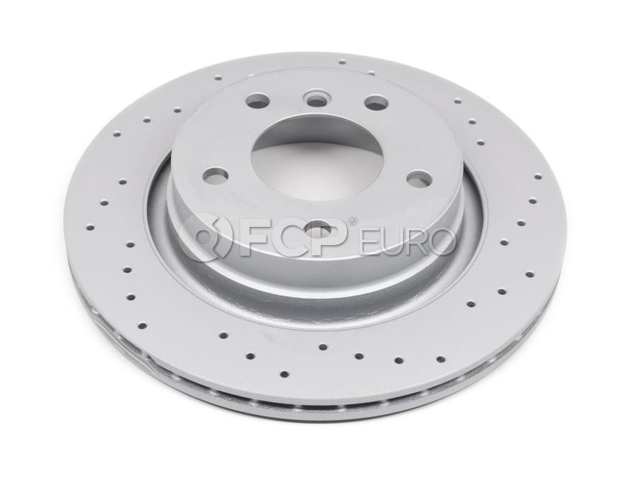 BMW Drilled Brake Disc - Zimmermann Sport 34216855154