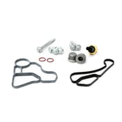 BMW Engine Oil Filter Housing Gasket Kit - 11428637821KT4