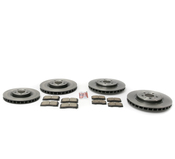 Volvo Brake Kit - Akebono 30645222CKT