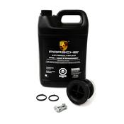 Porsche Engine Coolant Thermostat Kit - Vemo V45990005KT