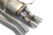 """BMW MACH Force-Xp 2-1/4"""" 409 Stainless Steel Cat-Back Exhaust System - aFe 49-46309"""