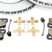 Porsche Brake Kit - Zimmermann/Textar 970BRKT4