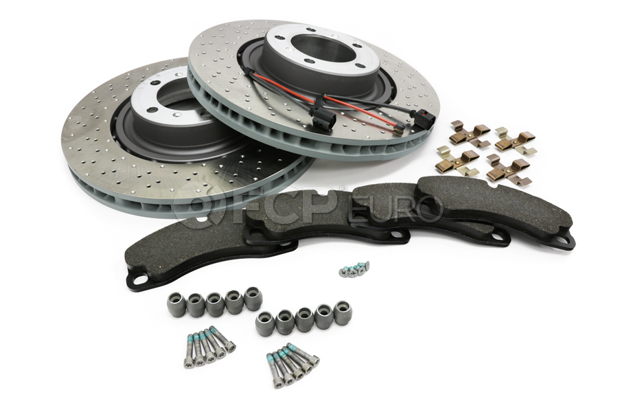 Porsche Brake Kit - Ferodo Racing/Sebro FCP4664HKT3