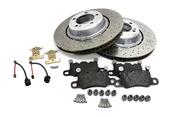 Porsche Brake Kit - VNE/Textar 991TURBOBRKT1