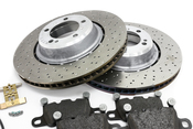 Porsche Brake Kit - VNE/Textar 991TURBOBRKT1