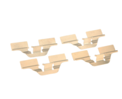 Audi VW Disc Brake Pad Retaining Clip Set - Textar 1J0615231