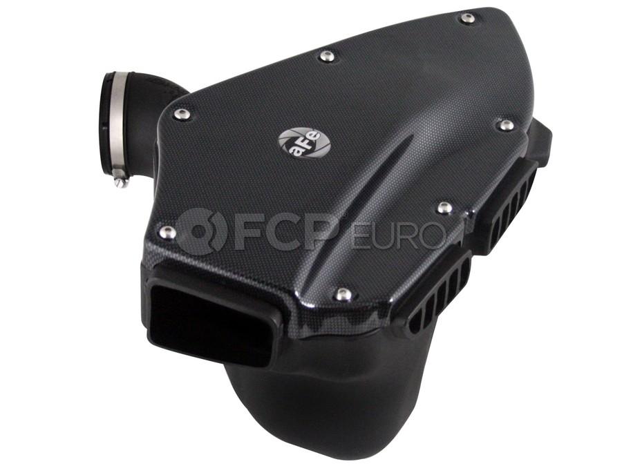BMW Magnum FORCE Stage-2 Si Cold Air Intake System - Carbon Fiber Look Trim w/Pro DRY S Filter Media - aFe 51-81012-C