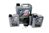 Porsche Engine Oil Change Kit 10W-40 - Liqui Moly 524665KT2