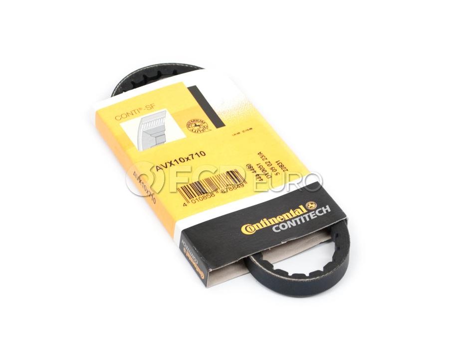 Porsche Alternator Drive Belt - Contitech 10X710