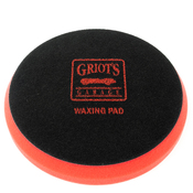 Red Foam Waxing Pad (6.5in.) - Griot's Garage 10618