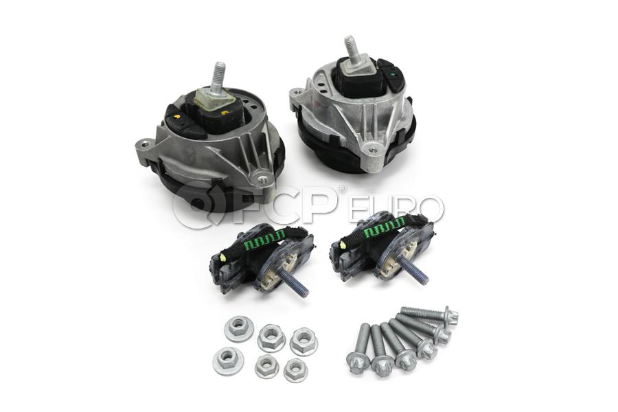 BMW Engine and Transmission Mount Kit - Corteco 22116855460KT1