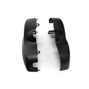 BMW Set Of Covers Mirror Baseplate (Black) - Genuine BMW 51169216739