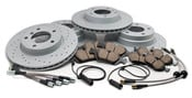 BMW Brake Kit - Akebono/Zimmermann E36BK1