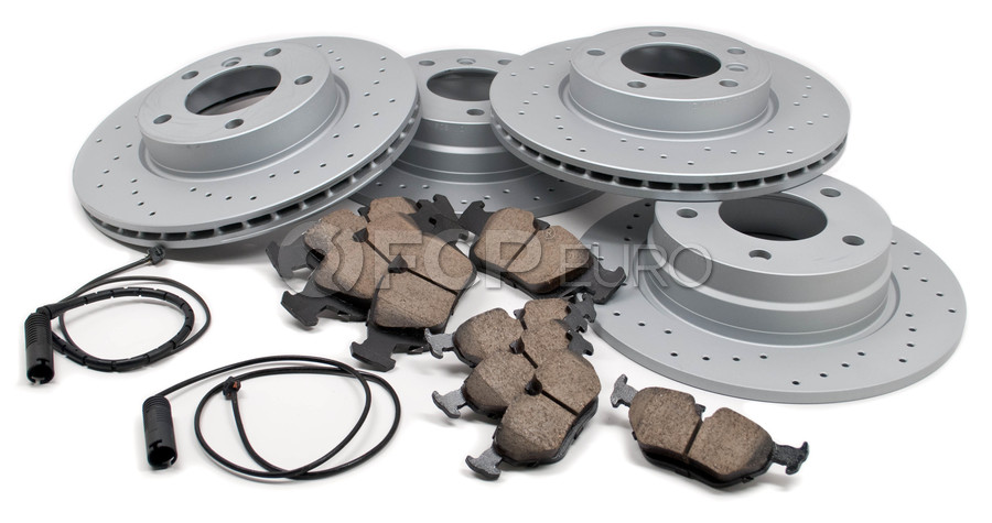 BMW Performance Brake Kit - Akebono/Zimmermann Drilled E36BK2
