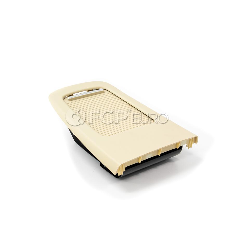 BMW Cover Rear Console Rear (Creambeige) - Genuine BMW 51166963915