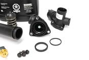 Porsche Engine Coolant Thermostat Kit - Gates/Genuine Porsche 34822KT