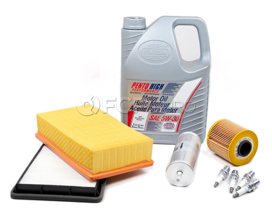 BMW Tune Up and Filters Kit with Oil - E36TUNEKIT1-Oil
