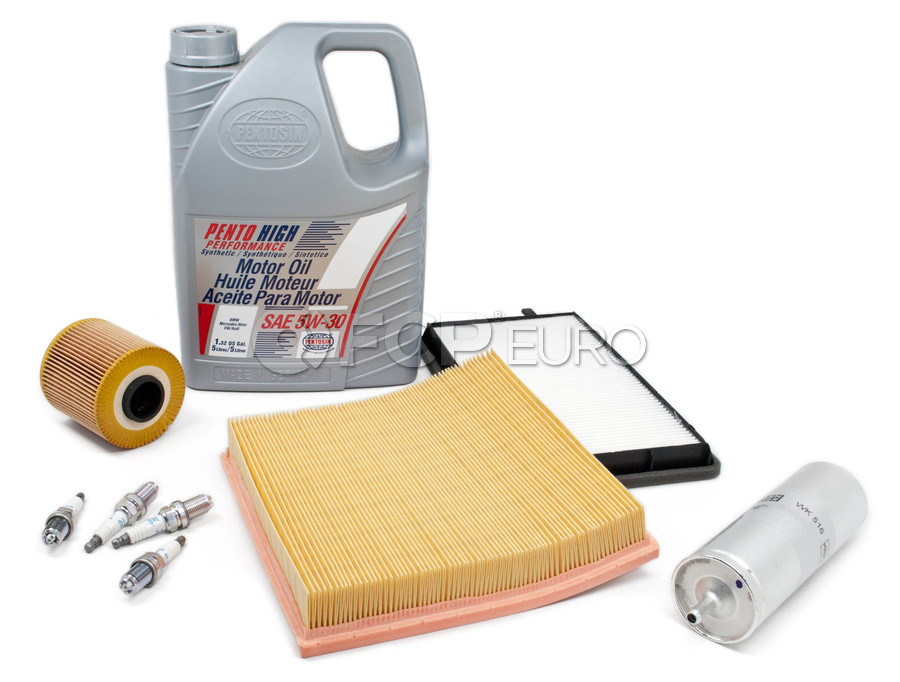 BMW Tune Up and Filters Kit with Oil - E36TUNEKIT2-Oil