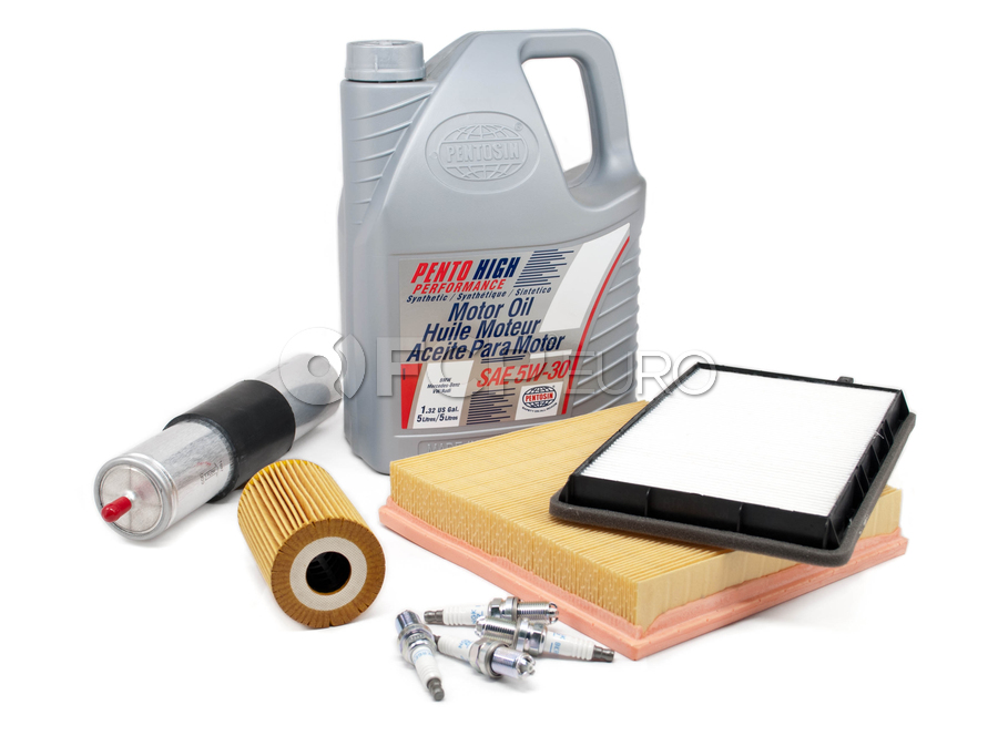 BMW Tune Up and Filters Kit with Oil - E36TUNEKIT4-Oil