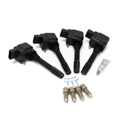 Porsche Ignition Coil Kit - Eldor/Bosch 982IGNKT