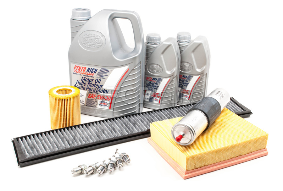 BMW Comprehensive Maintenance Kit With Oil (E46) - E46TUNEKIT1-OIL