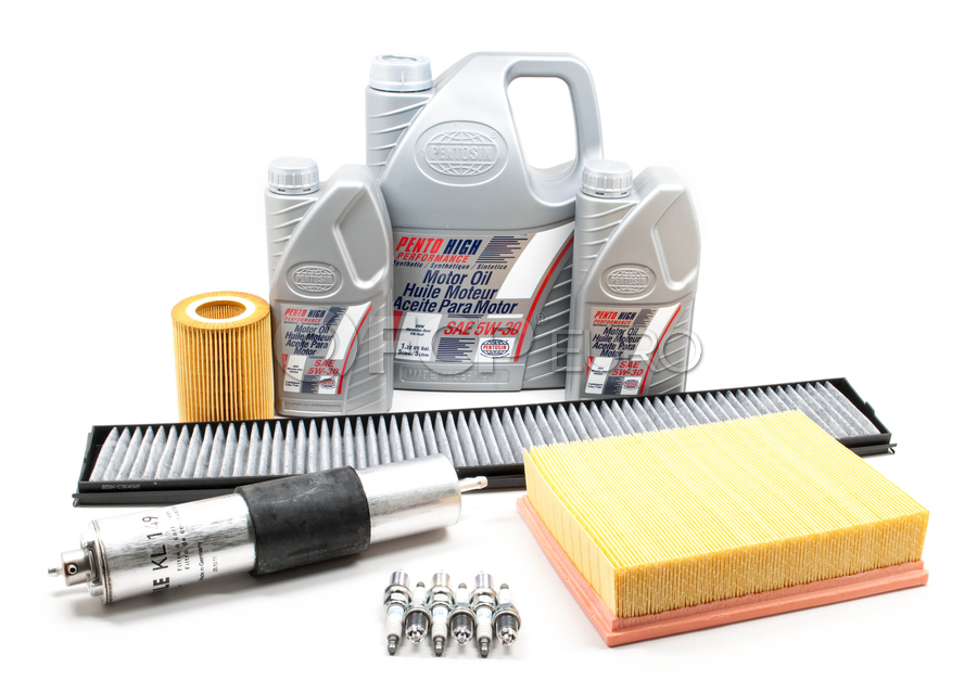 BMW Comprehensive Maintenance Kit with Oil - E46TUNEKIT2-Oil