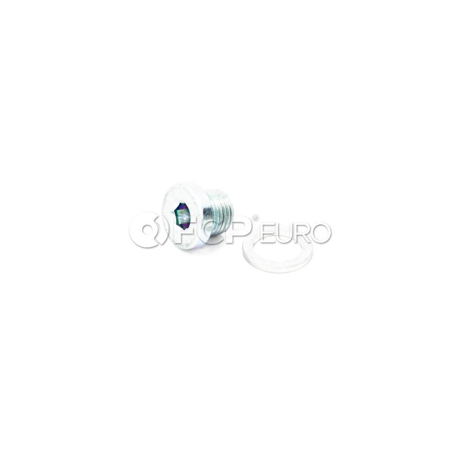 BMW Screw Plug With Gasket Ring (M10X1) - Genuine BMW 24111421387