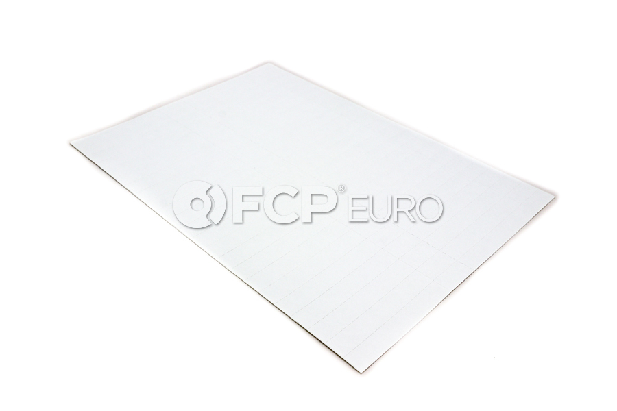 BMW Set Of Adhesive Labels (1= 9 200 Stk-Pc) - Genuine BMW 01490390517