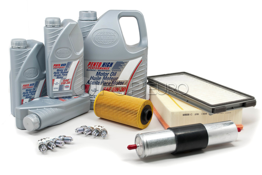 BMW Tune-Up Kit with Oil (530i 540i) - E34TUNEKIT4-Oil