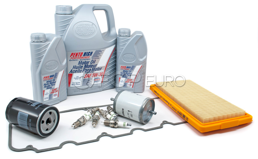 BMW Tune Up and Filters Kit with Oil - E28TUNEKIT2-Oil