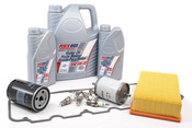 BMW Tune Up and Filters Kit with Oil - E28TUNEKIT3-Oil