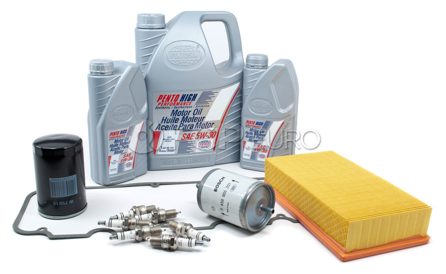 BMW Tune Up and Filters Kit with Oil - E28TUNEKIT4-Oil