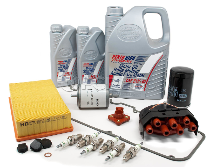 BMW Tune Up and Filters Kit with Oil - E30TUNEKIT4-Oil