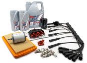 BMW Complete Tune Up and Filters Kit with Oil - E28TUNEKIT2-Full