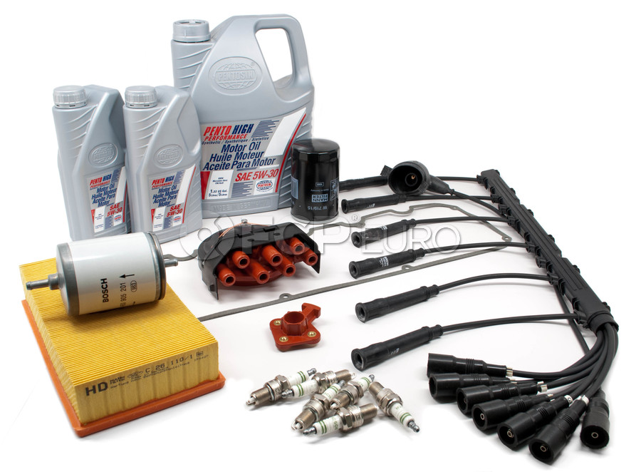 BMW Complete Tune Up and Filters Kit with Oil - E28TUNEKIT3-Full