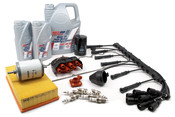 BMW Complete Tune Up and Filters Kit with Oil - E28TUNEKIT4-Full