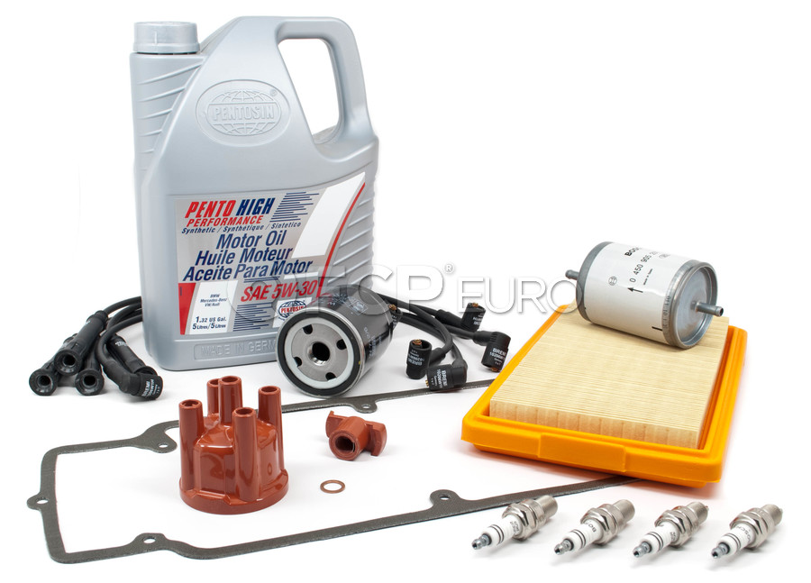 BMW Complete Tune Up and Filters Kit with Oil - E30TUNEKIT1-Full