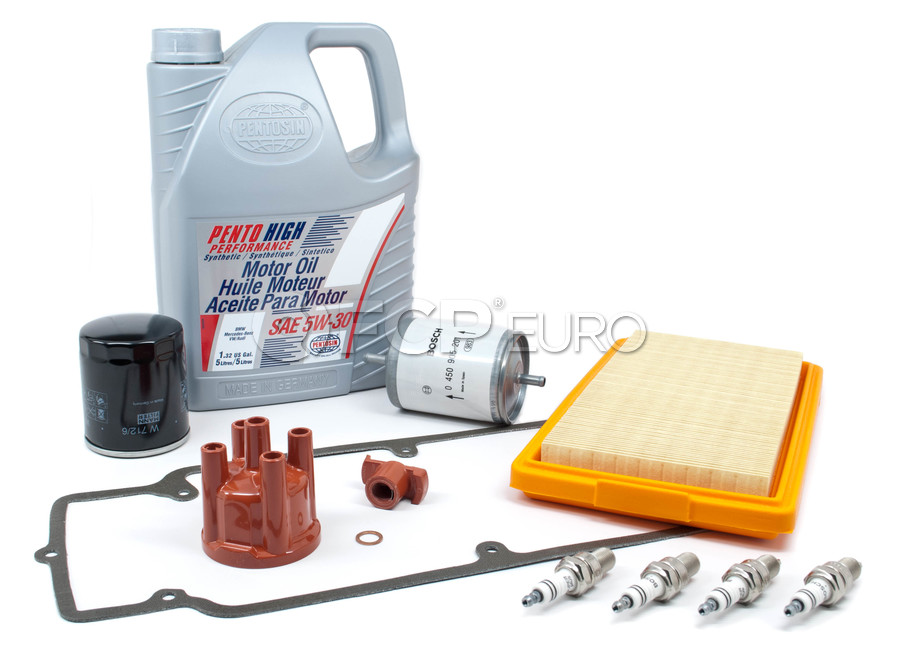 BMW Tune Up and Filters Kit with Oil - E30TUNEKIT1-Oil