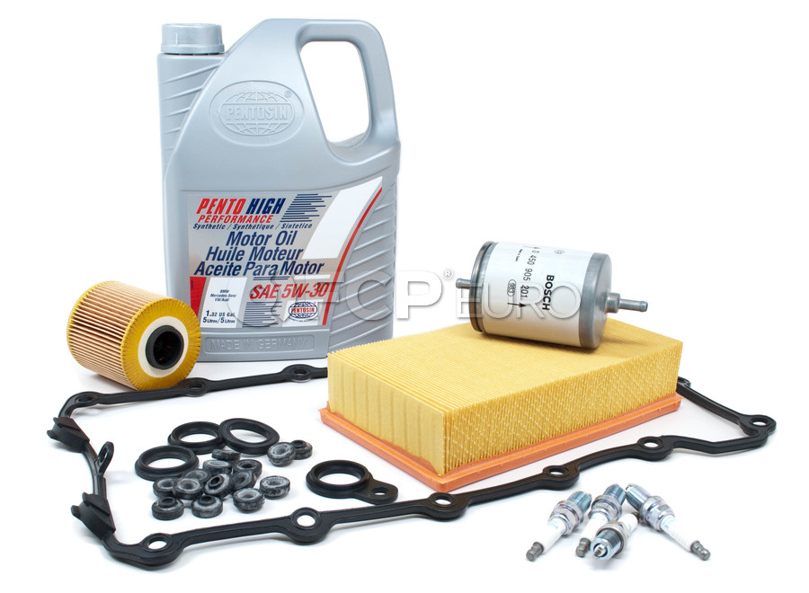 BMW Tune Up and Filters Kit with Oil - E30TUNEKIT2-Oil
